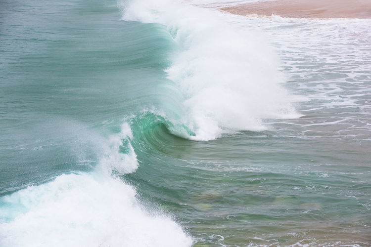 Swell Aquatic Sport Beach Beauty In Nature Breaking Breaking Wave Crash Day Hitting Land Motion Nature No People Outdoors Power Power In Nature Scenics - Nature Sea Sport Water Waterfront Wave