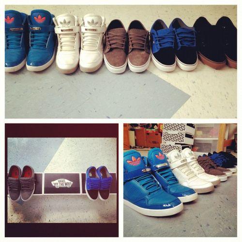Picstitch  Shoecollection Adidas Vans