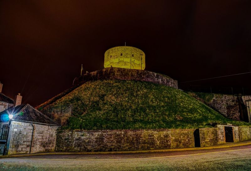 Historical Monuments Smart Complexity Night Photography Good Friday Millmount Museum