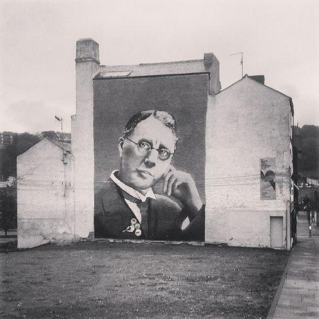 Mural Murals Buildingart Hallamuniversity sheffield sheffieldgraffiti