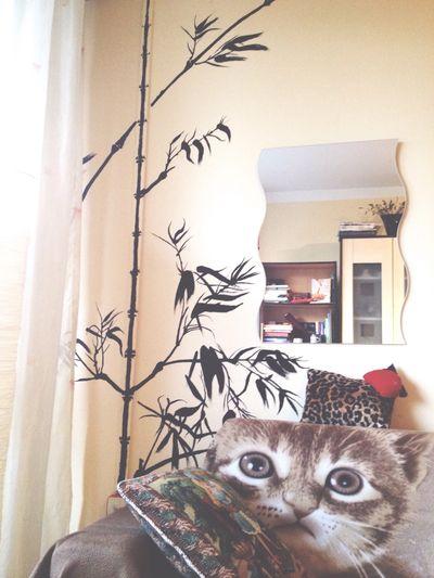 Bamboo Sumi-e Painting Ink Japanese  Deep Thoughts Art Design Interior Design Beautiful