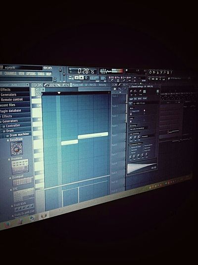 Beat Maker. Fl Studio Back To The Future Trapmusic Trap Music HTC_photography Enjoying Life Creative Producer Music Production