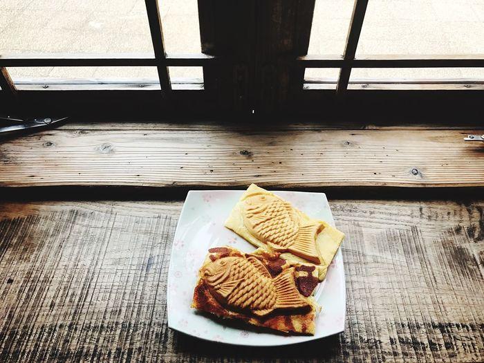 taiyaki@tokyo TAIYAKI Fish Pancakes Food Stories