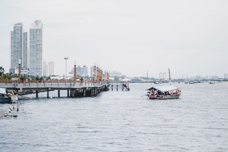 Architecture Water Built Structure Transportation Building Exterior City Nautical Vessel Waterfront Mode Of Transportation Sky Nature Day River Building Office Building Exterior Travel Skyscraper Urban Skyline No People Cityscape Outdoors Passenger Craft