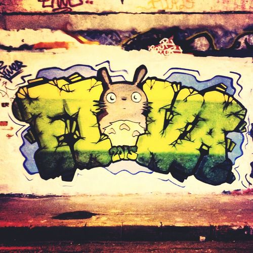 Graffiti Graff Bristol