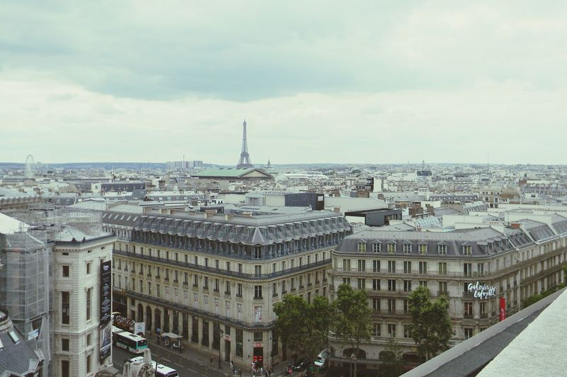 Cityscape Aerial View Urban Skyline Outdoors No People Paris Tour Eiffel High Angle View City Sky Architecture Travel Travel Photography Neighborhood Map Your Ticket To Europe