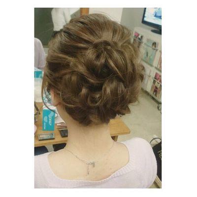 ヘアセット Hairアレンジ ヘアアレンジ Hair 美容院 錦 セットサロン アップ ヘアー ブライダル