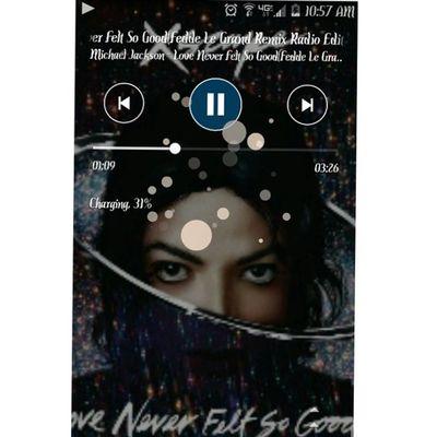 Michael Jackson kinda morning... LoveNeverFeltSoGood