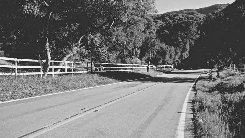 Lonely country road somewhere in California (probably between Santa Barbara and Los Angeles) California Ontheroad Countryroad Bnw Monochrome Tagsforlikes Instablackandwhite Monoart Insta_bw Bnw_lover
