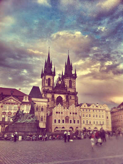 From Prague, old town, with love