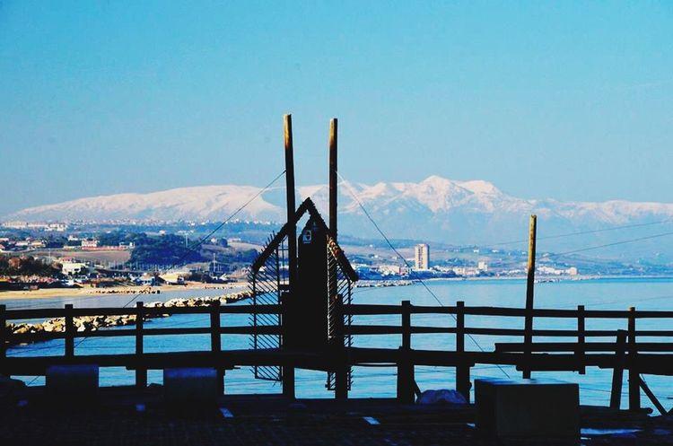 Termoli  Termoli City Mountain White Sea Seaside Trabucco Scogli Belle Giornate
