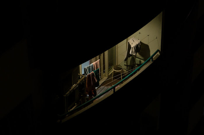 Another One Still Awake Apartment Living... City Life Darkness INDONESIA Jakarta Late Night Apartment Apartment Balcony Apartment Building Apartment View Evening Insomnia Latenight Urban Colour Your Horizn