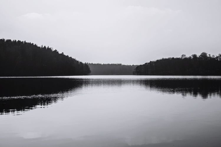 #reflections #Lake B/W Photography Water No People Beauty In Nature