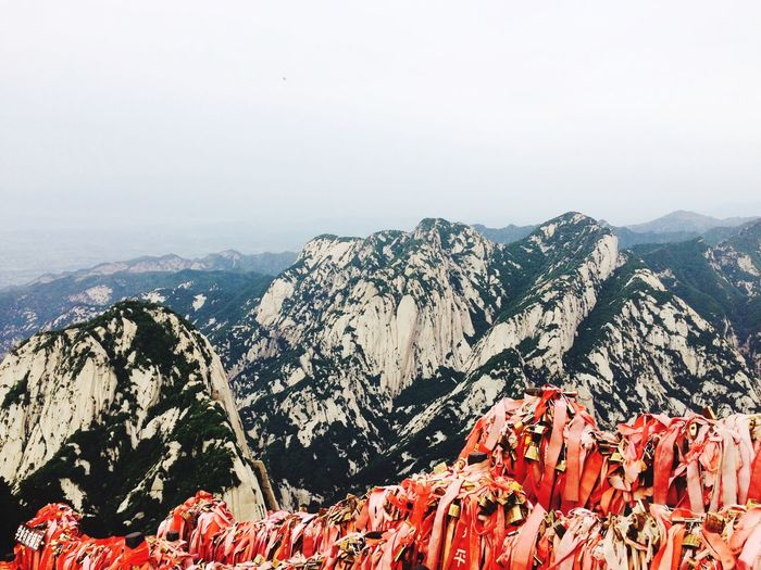 Beauty In Nature Mountain Huashan Mountain Mountain Range Scenics No People Nature The Great Outdoors - 2017 EyeEm Awards