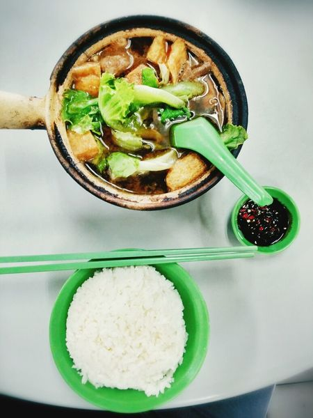 Bak kut teh Food Porn Food Heritage Pork Soup Claypot Singaporean Singaporean Food Plated Food Hawker Food Bakuteh Chinese Delicious Set Meal Chillies Asian Culture Asian Food Food And Drink Bowl Healthy Eating Freshness Ready-to-eat No People Indoors  Table Vegetable Green Color Serving Size Close-up