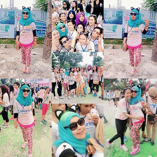 too much colour, fun and happiness ????? Colourfest Colourfestpku ColourFestival VSCO vscocam