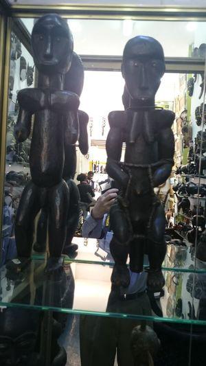 Art African Arte Africano De Madera En Bois Camerun