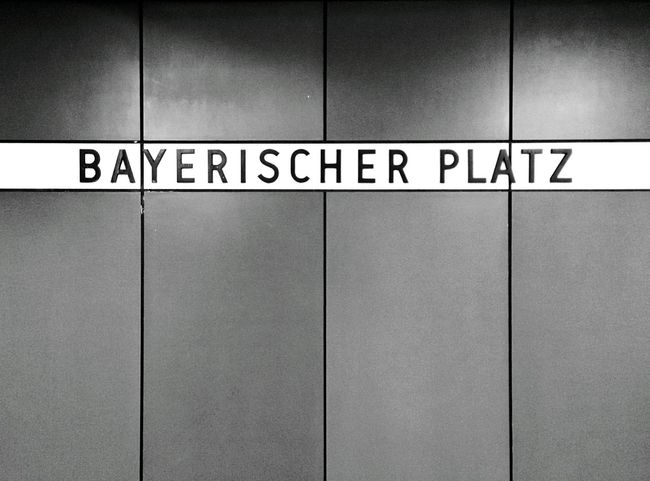 Transportation Ubahn Berlin Minimalism