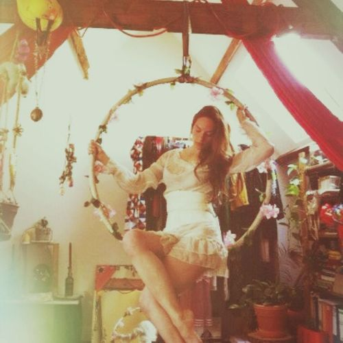 Make Magic Happen Circus Hoop Home Lyra Theater Roses Fairy Tales From A Parallel Universe