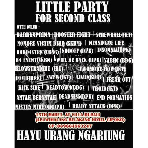 Infogigs @DEADTOWN_HC 15.03.2014 Bogor Show