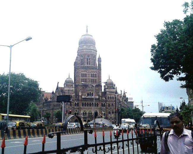 Colaba Mumbai Building Street Photography India Traveling Stranger