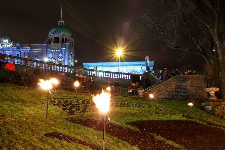 The Elements Spectra Spectra2015 Festivaloflights Aberdeen Nightphotography Streetphotography Fire Architecture