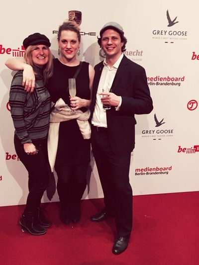 Fun times on the Red Carpet at Berlinale 2015