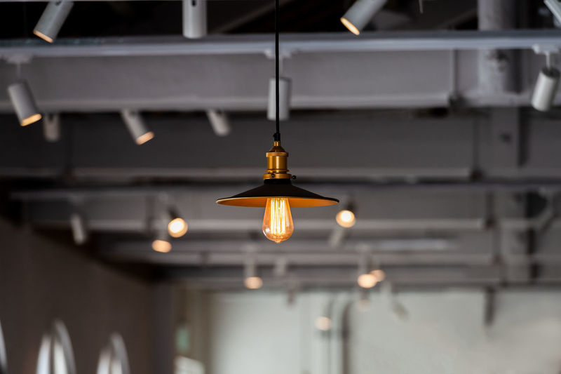 Lighting Equipment Illuminated Hanging Indoors  No People Pendant Light Light Focus On Foreground Low Angle View Electric Light Ceiling Electricity  Architecture Electric Lamp Light Bulb Glowing Close-up Technology Built Structure Building Light Fixture