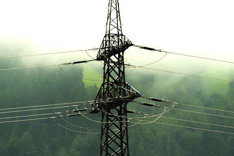 Electricity  Power Supply Power Line  Electricity Pylon Electricity Tower Austria Mountain Range Photography Tirol  Alps Connection Arnhem EyeEm Best Shots EyeEm Nature Lover Eyew4