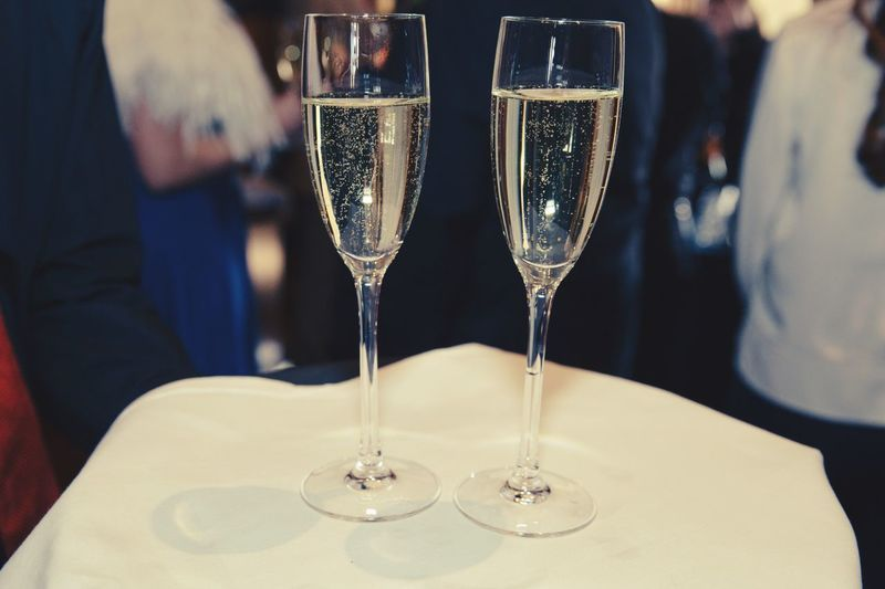 Happy Times Bubbles Champagne Prosecco Wedding