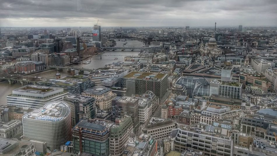 Cityscape Aerial View City Architecture Building Exterior Travel Destinations Outdoors No People Skyscraper Day Sky Downtown London View From Above WalkieTalkie Walkie Talkie Building EyeEm LOST IN London