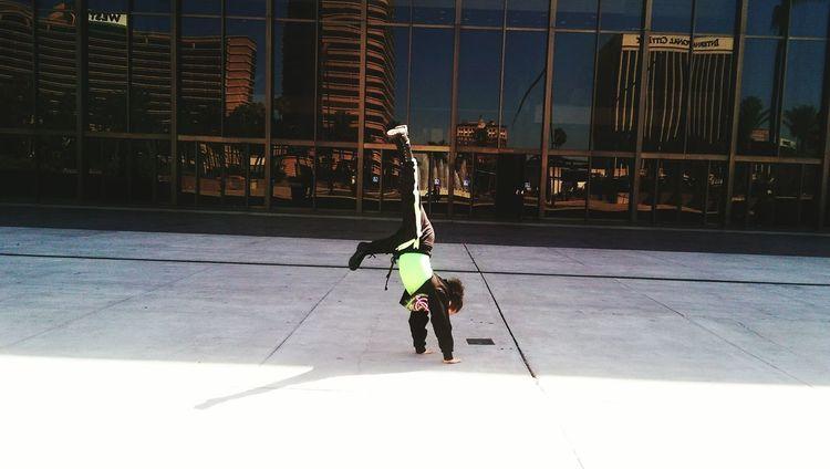 Handstand  Dance Competition Hip Hop Dance Long Beach, California USA  Music Alternative Fitness Having Fun Active Lifestyle