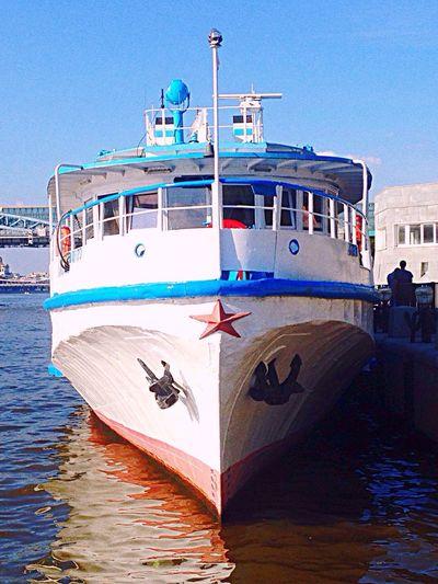 Oldschool Ship Moskow Moscowriver ПаркГорького парксладкого Star Redstar Friday Summer