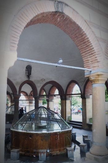Water Arch Dome Architectural Column Architecture Built Structure Arcade Mosque Fountain Drinking Fountain