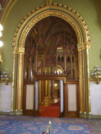 Orante Doorway to the Crown Jewels, Hungarian Houses of Parliament Budapest Composition Hungary Parliament Building Tourist Attraction  Arch Architecture Blue Red Gold And Green Colour Built Structure Capital City Door Doorway Full Frame Gothic Style Houses Of Parliament Indoor Photography Neo Gothic Architecture No People Ornate Door Parliament Travel Destination