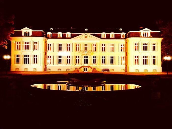 Leverkusen schloss Castle morsbroich Leverkusen Castle Night Building Exterior Architecture Built Structure Building Illuminated No People Outdoors