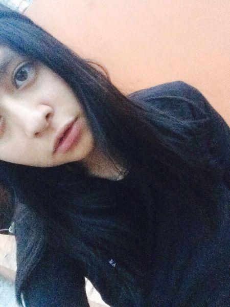 Hahaha🤓🤓 Girl Black All Black Me :)  Mexican Girl