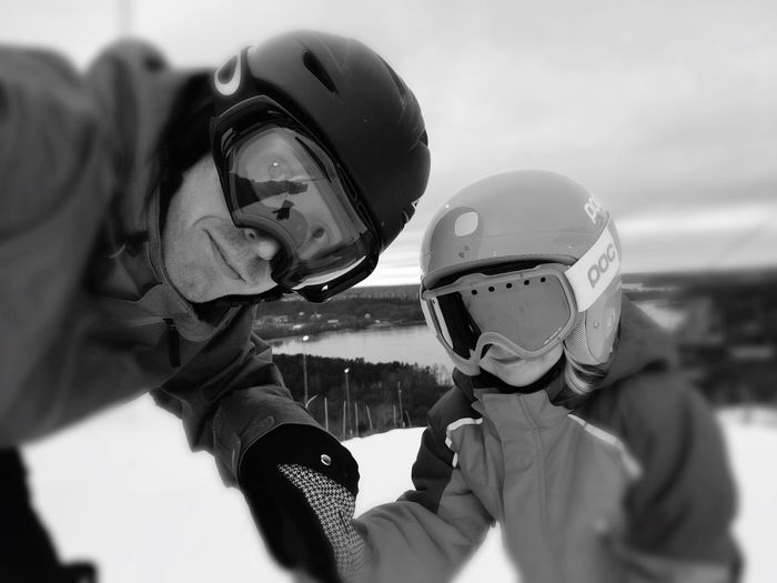 Skiing @ Flottsbro with My Daughter First Eyeem Photo IPhoneography