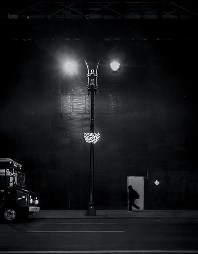 Delivery Time - photograph by James Aiken City life at the early morning delivery time. Film Noir Nightphotography Nighttime Street Light Street Lamp Architecture Black And White Black And White Photography Delivery Truck Illuminated James Aiken James Aiken Photography Land Vehicle Light And Shadow Lighting Equipment Monochrome Night Outdoors Real People Street Street Light Streetphoto_bw Streetphotography Transportation Urban Myopia