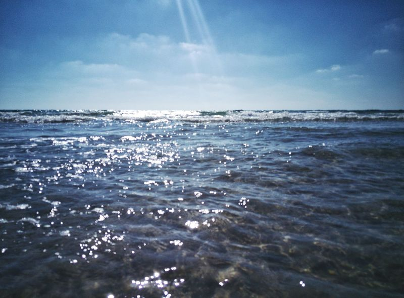Sea Nature Blue Water Horizon Over Water Sky Beauty In Nature Outdoors Beach No People Scenics Day Wave Clear Sky Humpback Whale UnderSea Beach 😎 Summer EyeEm Team Tranquility Waves Waves, Ocean, Nature Sommergefühle The Week On EyeEm