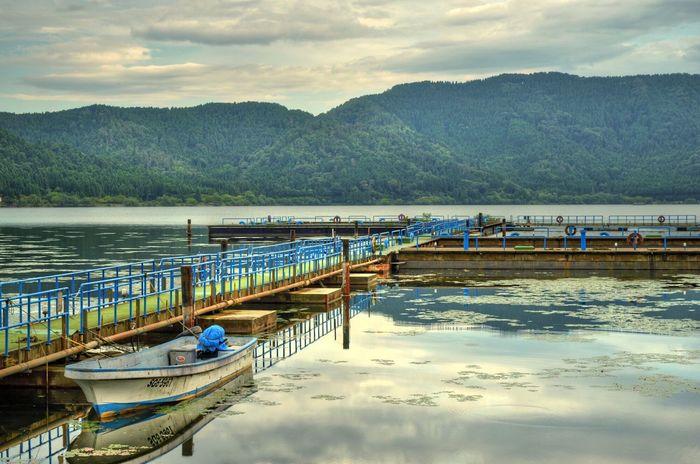 余呉湖でHDR EyeEm Best Shots HDR Beauty In Nature Waterfront at Yogo in Shiga Japan