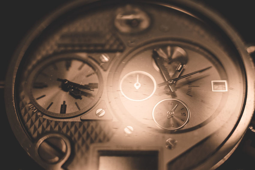 Close up of intricate watch face. Circle Clock Clock Face Close-up Day Hour Hand Indoors  Minute Hand No People Number Old-fashioned Pocket Watch Retro Styled Roman Numeral Technology Time Watch Watch Face Wristwatch