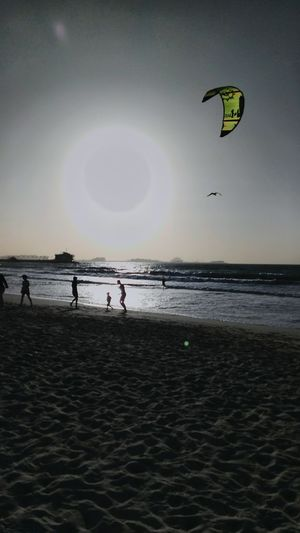 Enjoy your life 👌💖 Taking Photos Relaxing Enjoying Life Mobilephotography Beach Sea And Sky Seaside Playing Hello World Photography Jumera Beach Dubai❤