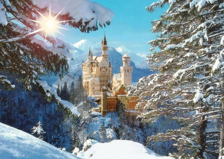 Snow Winter Cold Temperature Travel Destinations Architecture Building Exterior Built Structure Place Of Worship Outdoors Religion No People Clock Tower Nature Snowing Sky Day