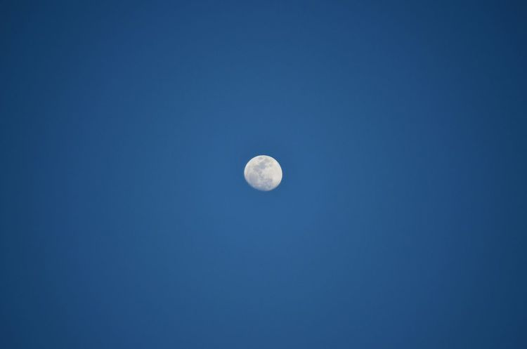 Moon Sky Oujda Morocco Cobalt Blue By Motorola