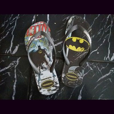 Eu uso chinelos preparados. 😉😉 Havainas Chinelos Batman DC Geek Nerd Style Preparacao Instagood Cool Good Comics