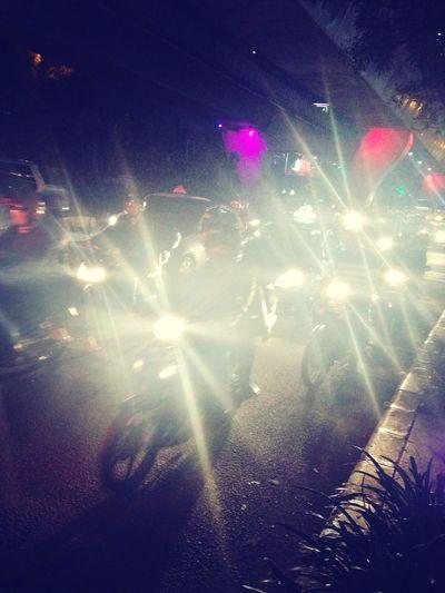 it's not Jakarta if you don't meet traffic jam