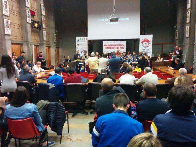 Presentazione attività Tamburellistica 2016 Tambass Tamburello Castell'alfero presso il Palazzo Della Provincia Di Asti