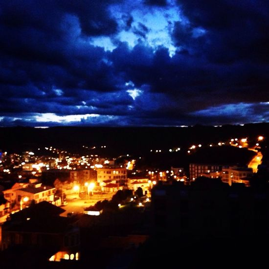 City Night Lights Sky Colors Of The Night Cold Night Into The Night Clouds And Sky