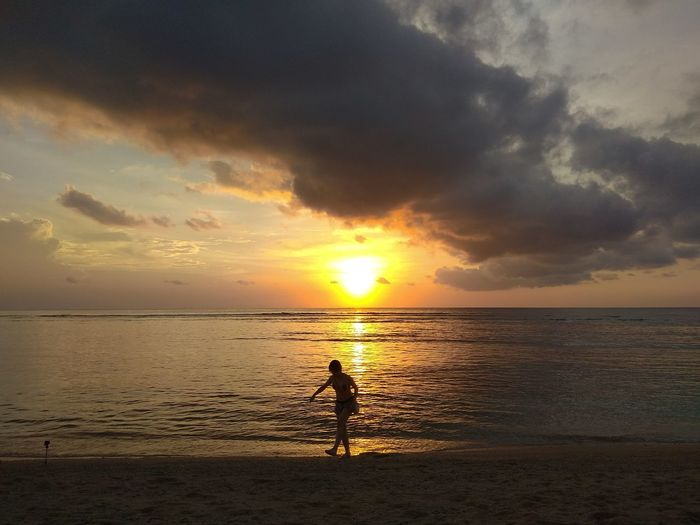 Sunset in Gili